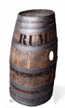 Barrel 'o' Rum Life-Size Cut Out / Prop